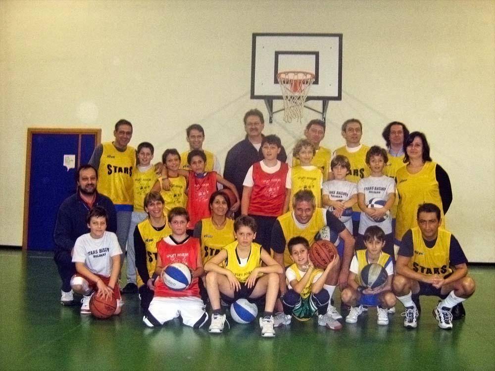 Stars Basket Bologna - Annata 98 - Partita genitori - figli