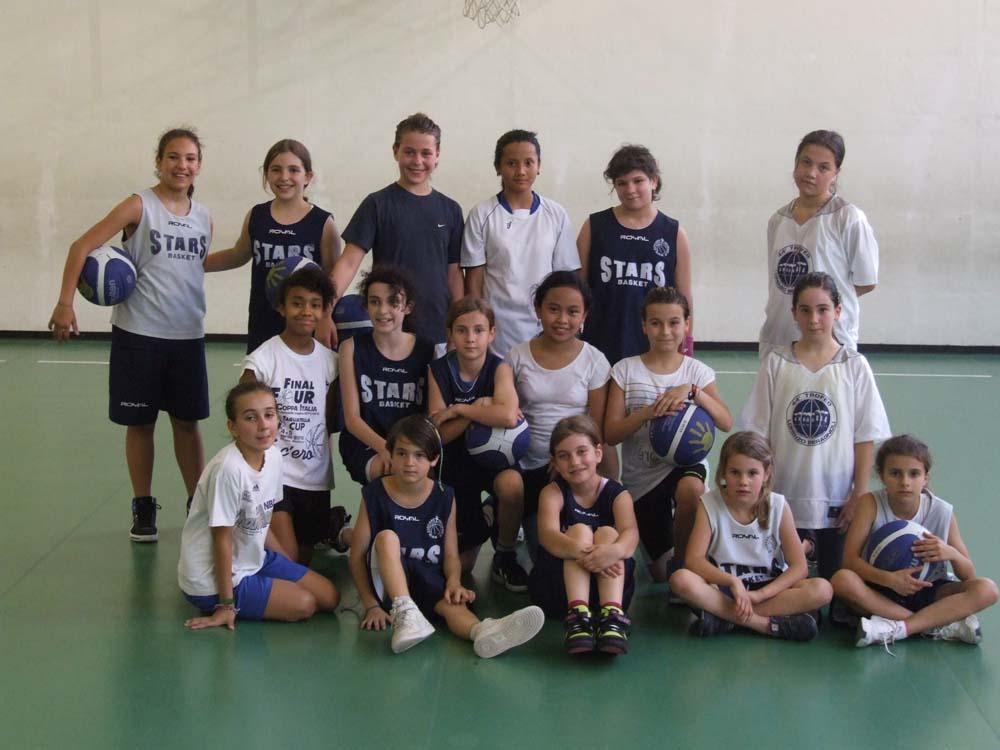Stars Basket Bologna - Gruppo Esordienti Femminile - Stagione 2002 - 2003