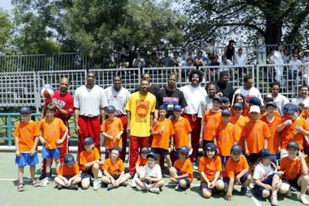 Stars Basket Bologna - Camp Giardini Margherita - Visita degli Harlem