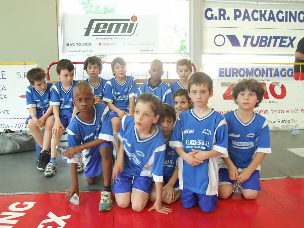 Sport Insieme Scoiattoli 2002 - 2003 Torneo di Castel San Pietro