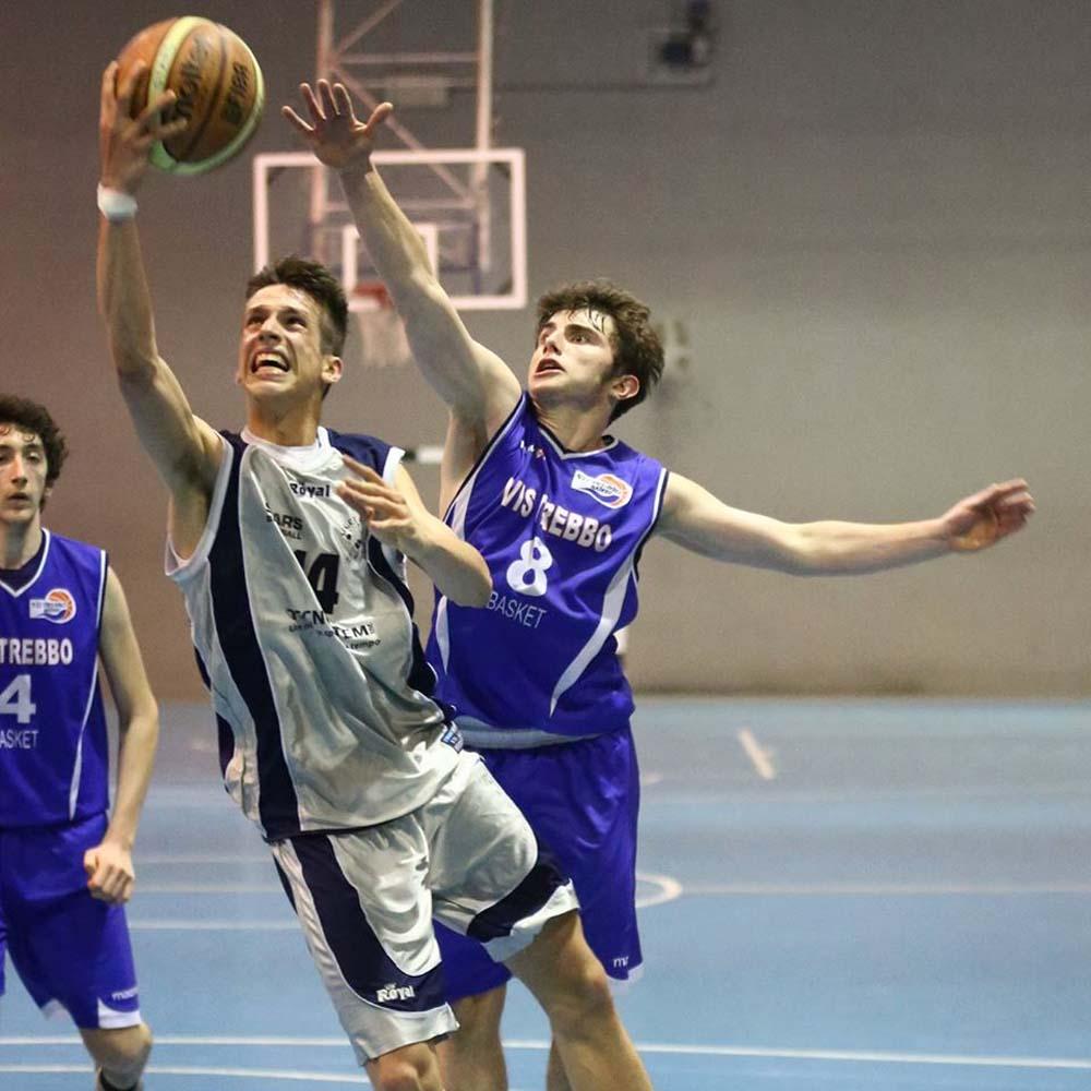 Stars Basket Bologna - Filo Regazzi - in azione
