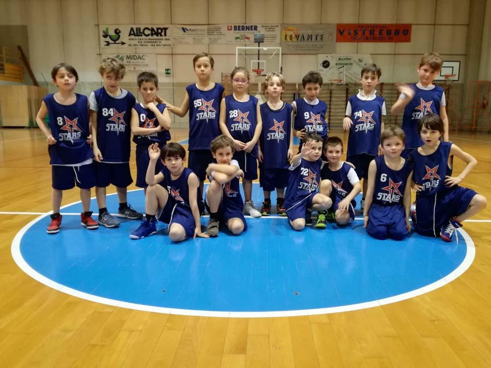 Stars Basket Bologna - minibasket 2010 - Stagione 2018 - 2019