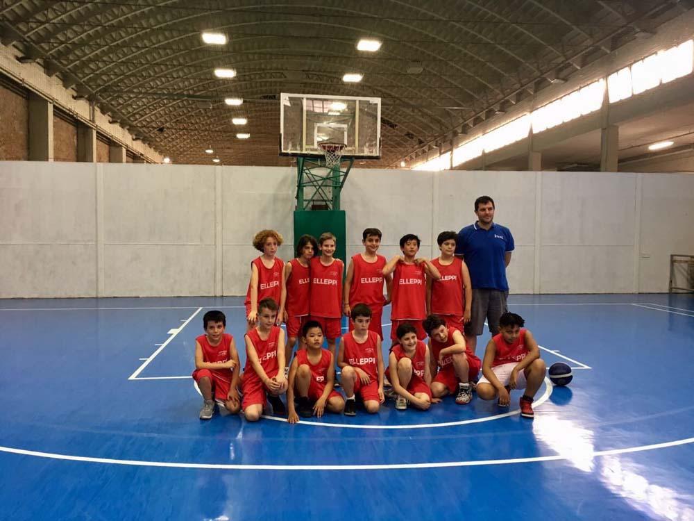 Elleppi minibasket 2007 - Stagione 2017 - 2018