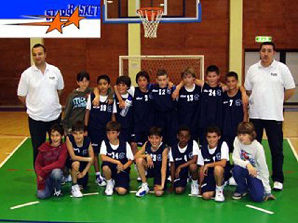 Campionato Minibasket Aquilotti - 1995 - Primi Classificati Stagione 2005 - 2006
