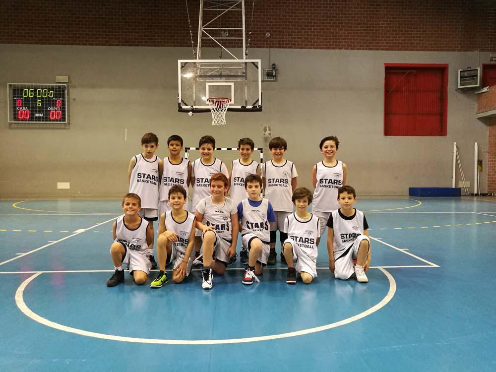 Stars Minibasket - 2007 -2008 Stagione 2018-2019