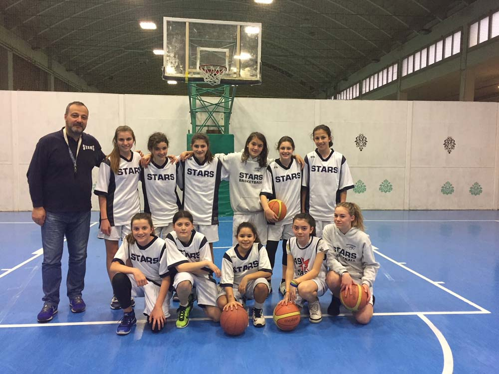 Stars Basket Bologna - Under 13 Femminile - Annata 1998/1999 - Stagione 2010-2011