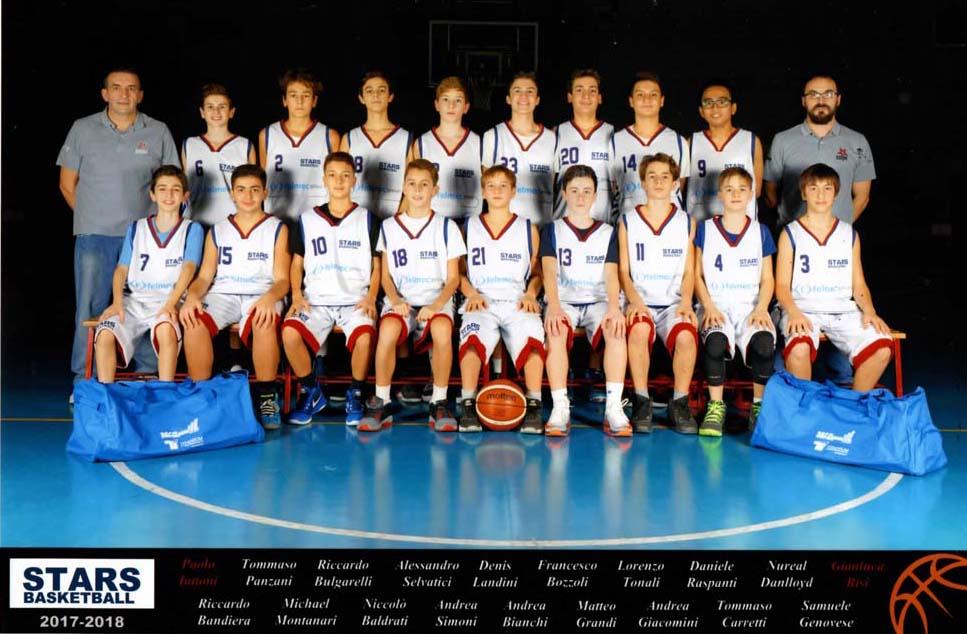 Stars Basket Bologna - Under 14 - Stagione 2017-2018